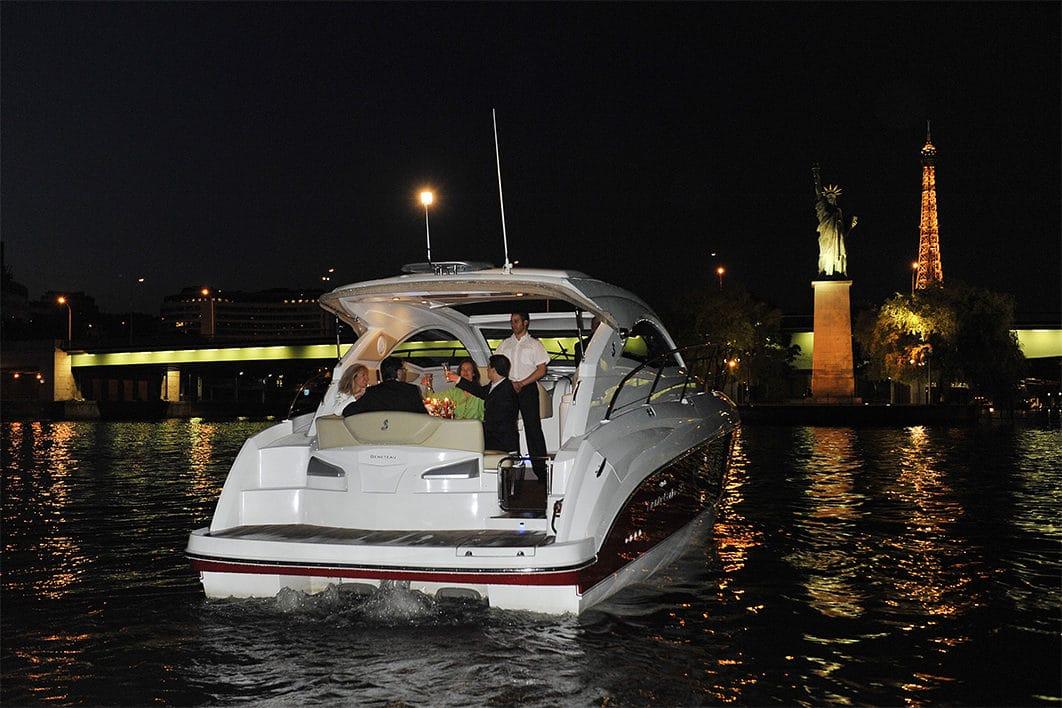croisière yacht de luxe sur la seine