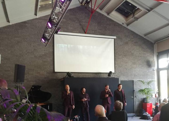le quatuor des stentors à l'atelier du france