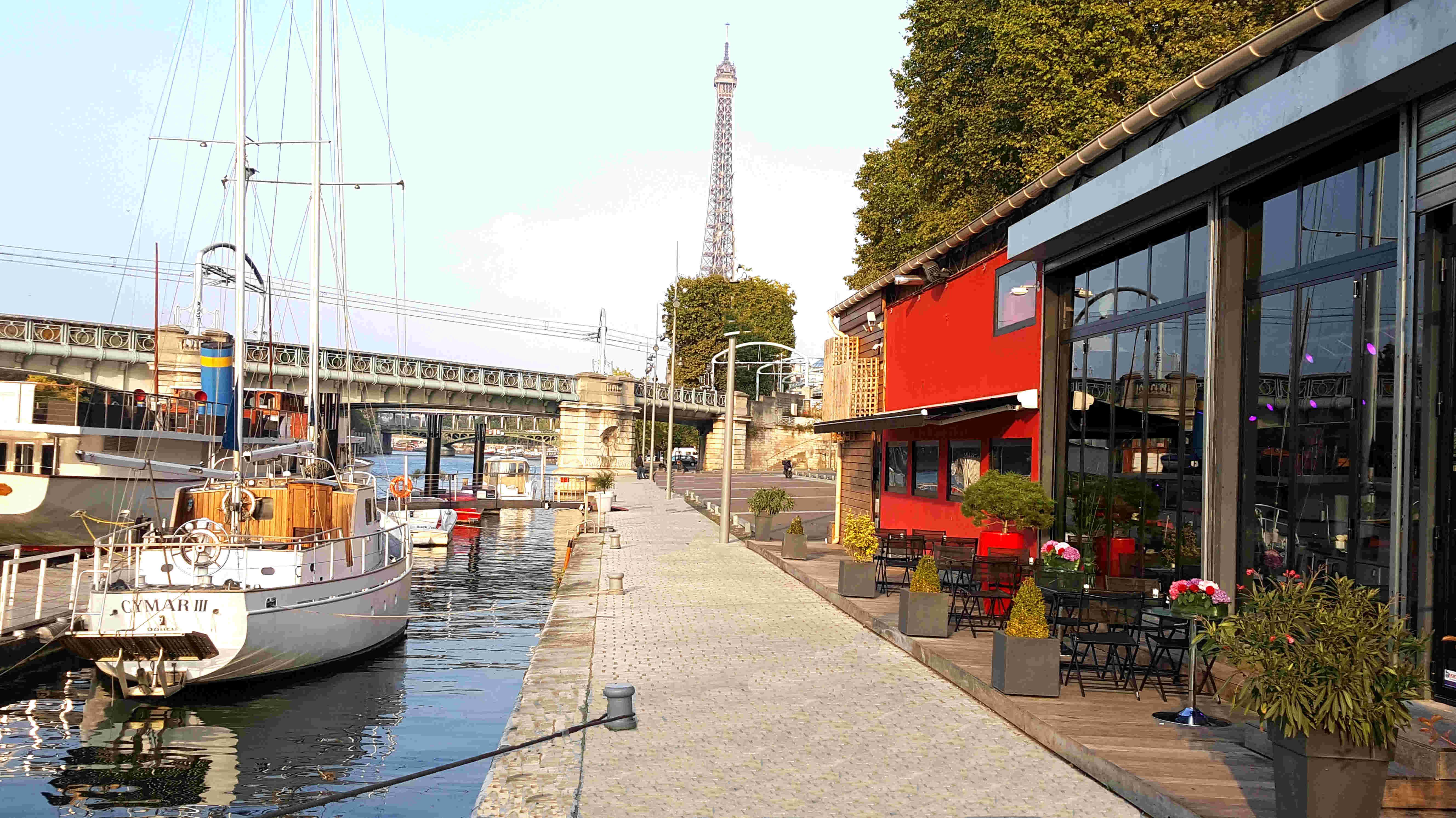 Cymar bateau parisien